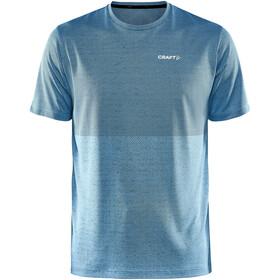 Craft Core Sence Structured T-shirt Herrer, petroleumsgrøn/blå